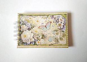Papiernictvo - Zápisník A6 so špirálovou väzbou - 11458210_
