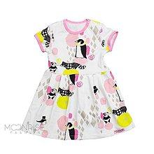 Detské oblečenie - BIO-šaty - Candy pink - 11458897_