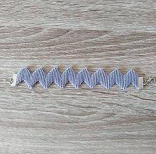 Náramky - Makramé náramky ZZZ (Fialová) - 11458561_