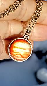 Náhrdelníky - Náhrdelník slnečná sústava - 11458283_