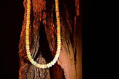Náhrdelníky - Náhrdelník etiopský opál - 11458036_