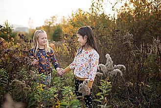 Detské oblečenie - Mikina Líška svetlá - 11461727_