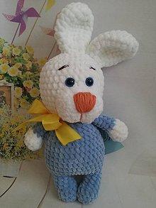 Hračky - zajko mäkučké bruško - 11462002_