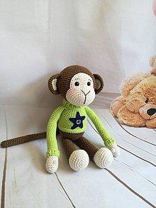 Hračky - opica - 11462123_