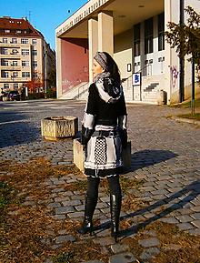 Svetre/Pulóvre - lel,BLACK AND WHITE 8 sveter - 11461111_