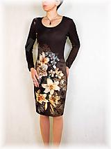 Šaty - Šaty lilie vz.506 i krátký rukáv - 11460938_