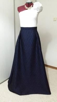 Sukne - Spoločenská sukňa, veľ. 44/46 - 11462075_