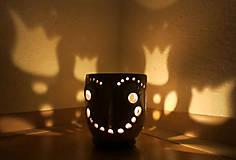 Svietidlá a sviečky - pohárik - lampášik - 11462886_