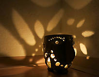 Svietidlá a sviečky - pohárik - lampášik - 11462887_