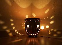 Svietidlá a sviečky - pohárik - lampášik - 11462888_