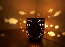 Svietidlá a sviečky - pohárik - lampášik - 11462889_
