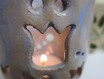 Svietidlá a sviečky - pohárik - lampášik - 11462890_