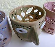 Svietidlá a sviečky - pohárik - lampášik - 11462892_