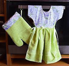 Úžitkový textil - Zásterka na rúru + chňapka - 11462033_