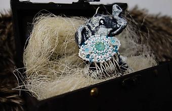 Iné šperky - Hrebienok do vlasov - 11462416_
