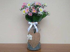 Dekorácie - Svadobná váza ❤️ - 11461722_