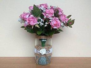 Dekorácie - Svadobná váza ❤️ - 11461723_