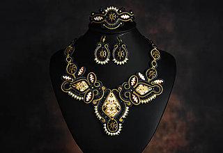 Sady šperkov - Soutache set - Shiny - 11461358_