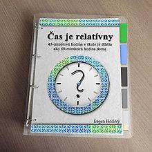 Papiernictvo - Čas je relatívny - zakladač - 11461025_