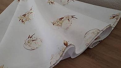 Úžitkový textil - Okrúhly obrus  (Veľkonočný teflónový) - 11463802_