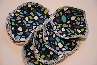 Úžitkový textil - ZERO WASTE ekologické odličovacie tampóny 8cm - 11465693_