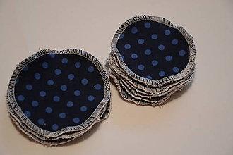 Úžitkový textil - ZERO WASTE ekologické odličovacie tampóny 8cm - 11465699_