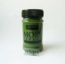 Farby-laky - Machová pasta (imitácia machu), 100 ml, (tmavozelená) - 11463311_