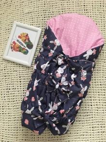 Textil - 2 v 1 zavinovačka a podložka - 11465763_