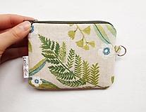 Peňaženky - Peňaženka/dokladovka - Pápradie  - 11464108_