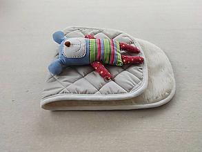 Textil - VLNIENKA  podložka ABC DESIGN 100% WOOL MERINO piesková Sand  Elegant - 11464159_