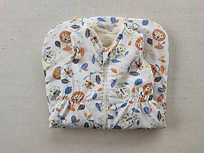 Textil - Vlnienka Spací vak pre deti a bábätká ZIMNÝ 100% MERINO S/M /L /XL /XXL /XXXL - 11464556_