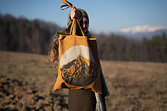 Nákupné tašky - Taška KRIVÁŇ / Vysoké Tatry - 2 494,7 m n. m. - 11465535_