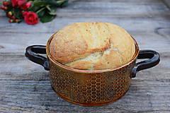 Nádoby - Forma na pečenie chleba - medová okrúhla - mini :) - 11463928_