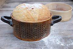 Nádoby - Forma na pečenie chleba - medová okrúhla - mini :) - 11463929_