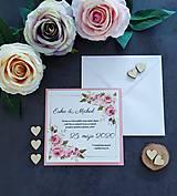 Papiernictvo - Svadobné oznámenie SĽUB B - 11464530_
