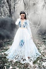 Šaty - Svetlo modré šaty Poľana - 11465407_