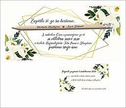 Papiernictvo - Oznámenie s ceruzkou 1 - 11465849_