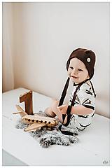 Detské oblečenie - Malý princ body a čiapočka - 11463409_