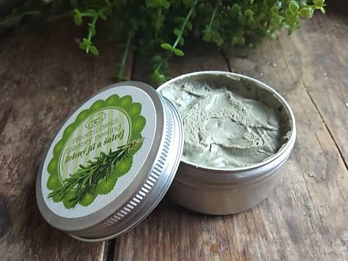 Zelený jíl a šalvěj - krémový čistící olej