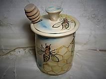 Nádoby - keramický medník - 11463181_