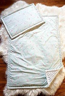 Textil - Paplón a vankúšik - 11467747_