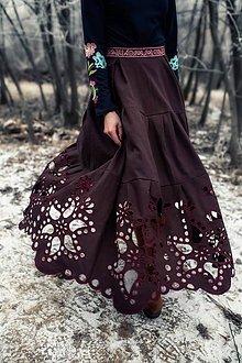 Sukne - Madeirová sukňa Poľana - 11466094_