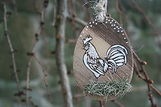 """Dekorácie - veľkonočná dekorácia na zavesenie """"kohútik"""" - 11467776_"""