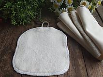 Úžitkový textil - Natur maxi tampon Beránek - 11468167_