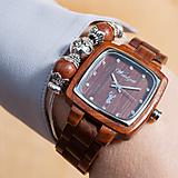 Náramky - Dámske drevené hodinky Impuls PIONIER  - 11466518_