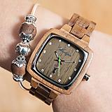Náramky - Dámske drevené hodinky Intuition PIONIER  - 11466521_