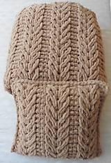 Úžitkový textil - Jemnučký a ľahučký vankúš z priadze alize puffy - 11467342_