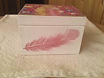 Krabičky - Krabička Barbie. - 11470870_