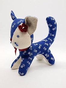 Dekorácie - mačička (1) - 11469436_