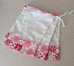 Úžitkový textil - sada vrecúšok na nákup 3 ks - 11469970_